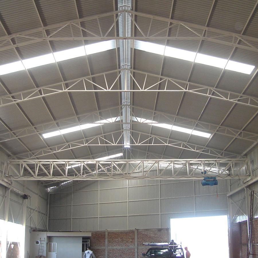 Construcci n de naves industriales instalaci n de arcotechos for Calefactores para naves industriales