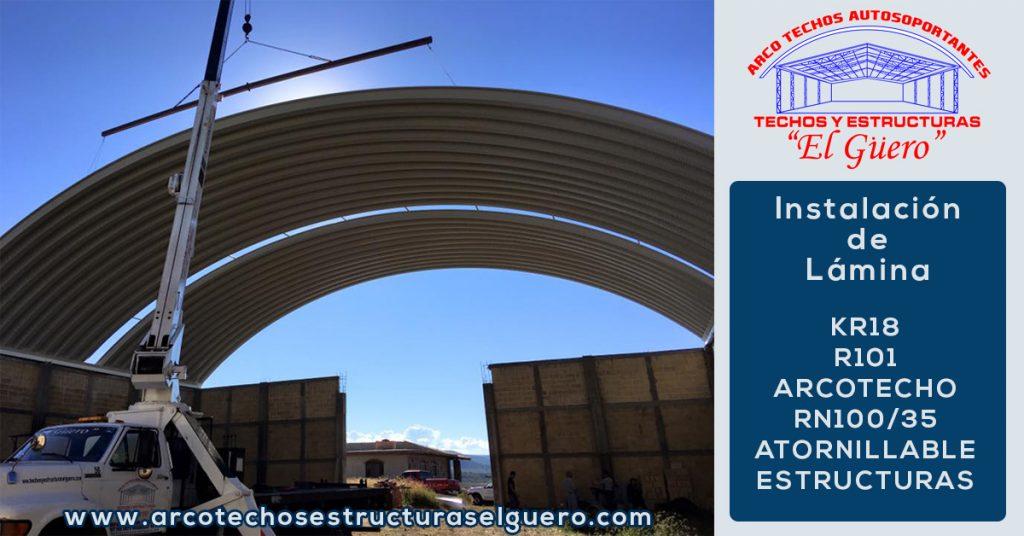 instalación de lámina en Guadalajara