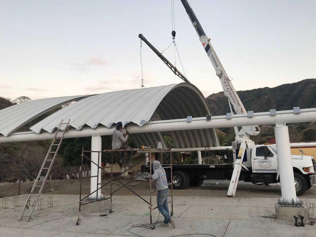 instalación de arcotecho en Aguascalientes
