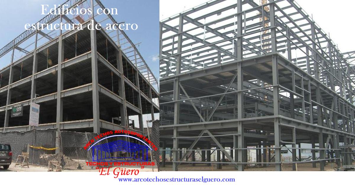 edificios con estructura de acero