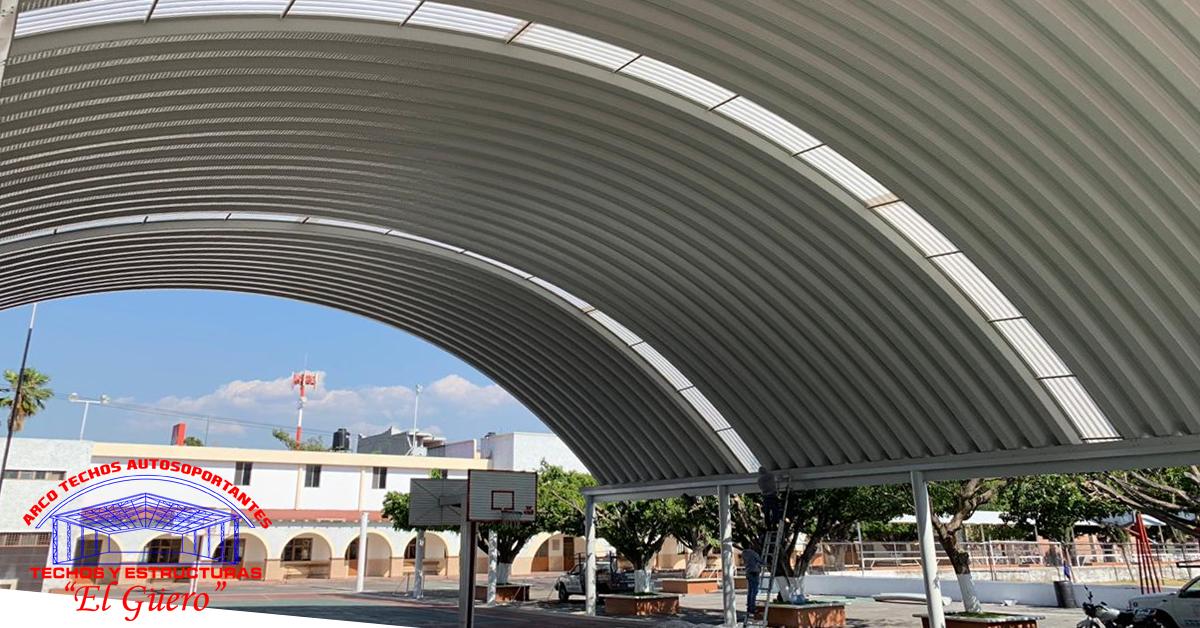 techos curvos